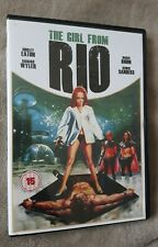 THE GIRL FROM RIO (1968) Shirley Eaton. Jess Franco film. uk R2 DVD - EXCEL CON