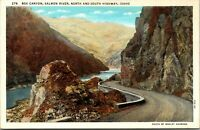 Vintage 1920's Box Canyon, North and South Highway in Idaho ID Postcard