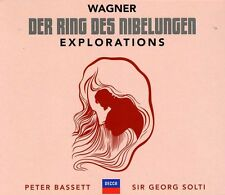 Wagner: Der Ring Des - Sir Georg/Peter Bassett Solti (2013, CD NEU)4 DISC SET