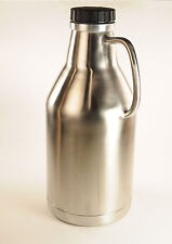 ULTIMATE BEER GROWLER 64OZ Stainless Double Wall Vacuum Sealed