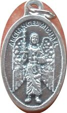 Archangel Michael with Staff Medal + St. Saint Leader of God's Army