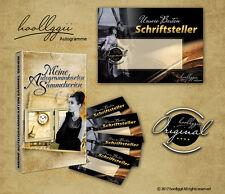 25er Set Blanko Autogrammkarten der Sammelserie : Unsere Besten Schriftsteller
