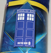 BBC Doctor Who Tardis Police Box Printed Velour Beach Towel 75cm x 150cm New