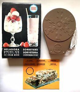 Vintage 1970 ODAG Ice Cream Maker Unused Kitchenalia