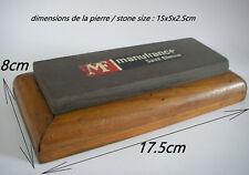 pierre a affuter MANUFRANCE / LA LUNE ? stone hone COTICULE ? Rasiermesser razor