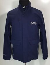 Under Armour Mens US Navy Tactical Jacket Coat Size Small Loose Blue Pockets