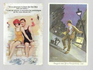 SALE - Comic Postcards - France