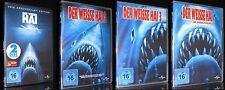 DVD DER WEISSE HAI 1+2+3+4 - ANNIVERSARY KOMPLETT-SET - STEVEN SPIELBERG * NEU