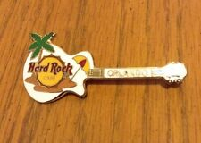 Orlando FL White Guitar with Palm Tree Hard Rock Cafe Pin