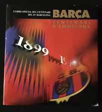 LIBRO DEL CENTENARIO F.C.BARCELONA 1899-1999 FUTBOL BARÇA