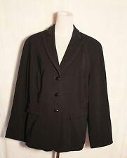 womens black Dressbarn plus size blazer Jacket  size 16