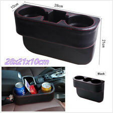 Multifunction Microfiber Leather Car Seat Gap Cup Holder Drink Storage Organizer