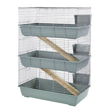Indoor Rabit Cages 80 100 120 cm Single Double Triple Tier - Stand - Brand New