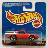 1997 Hotwheels Porsche 911 Red Street Racers Series European Short Card Release