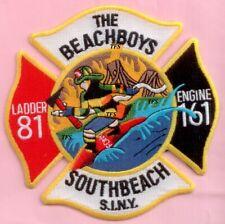 New York City Fire Dept Engine 161 Ladder 81 Patch Beachboys