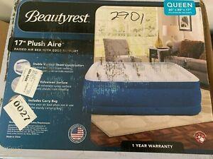 "Simmons Beautyrest Plush Aire 17"" Raised Queen Air Mattress"