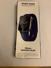 Sport Band - Watch Strap for Apple Watch™ 38mm - Midnight Blue WESC03808