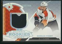 2019-20 Upper Deck Ultimate Collection Rookies Jersey /399 #195 Morgan Frost