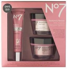 No7 Restore & Renew Face & Neck Multi Action Serum Skincare System