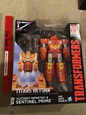 Transformers Titan Returns Sentinel Prime Headmaster Infinitus Voyager class New