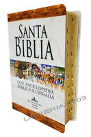 BIBLIA REINA VALERA 1960 CON ENCICLOPEDIA ILUSTRADA E INDICE PASTA DURA