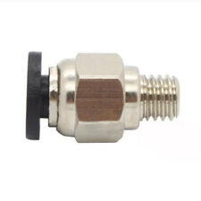 1PC PC4-M6 Straight PPromatic Fitting Connector For 3D Printer Zubehör Pro.!