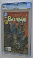 BATMAN  # 532 : CGC 9.8 (NEAR MINT/MINT) : JULY 1996 : DC COMICS.