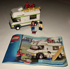 Lego 7639 City Camper Set Minifigures w/ Manual 100% Complete EUC