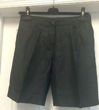 Kiton Blue Linen Shorts Size 44 US 4-6 M