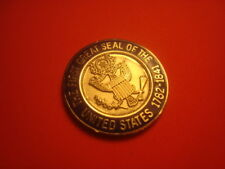 The First GREAT SEAL of The United States 1782 Challenge Coin-Golf Ball Marker