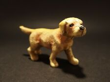 Primitive Antique Style Miniature Cast Iron Golden Retriever Dog