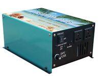 1500W INVERTER ONDA SINUSOIDALE PURA da 12V a 230V dc to ac pure power inverter