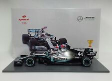 Spark 1/18 Model Car F1 Mercedes AMG Hamilton Winner England 2019 New