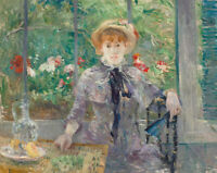 After Lunch Berthe Morisot Print on Canvas Fine Art Giclee Reproduction SM 8x10