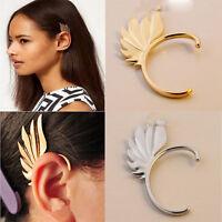 New Vintage Jewelry Men Women Wing Shape Punk Gothic Ear Cuff Clip Stud Earring