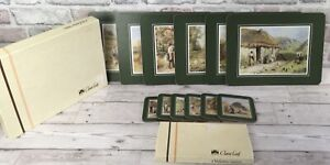 Vintage Clover Leaf Place Mats With Matching Coasters X 6 Boxed Halcyon Days