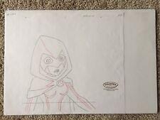Teen Titans 2003-2006 Animated Series Production Art RAVEN