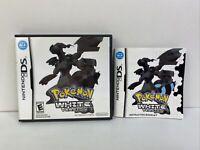 Pokemon White Version Nintendo DS Box & Manual ONLY *No Game* Authentic DA92984
