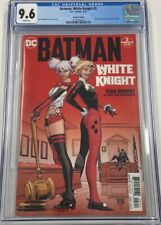 DC Batman White Knight #3 Second 2nd Print Harley Quinn 1st Neo Joker CGC 9.6