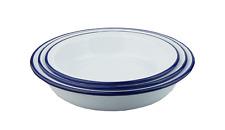 Falcon Enamel Round Pie Dish Set of 3 18/20/22cm