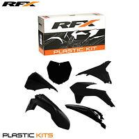 RFX Plastic Kit KTM (Black) SX 125 150 2013 2014 2015