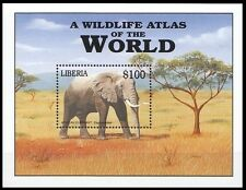 Liberia 2001 MNH MS, Wild Animals, African Elephant (N149)