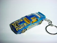 NEW 3D BLUE 1977 PONTIAC TRANS AM CUSTOM KEYCHAIN keyring key T/A 75' firebird