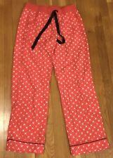 Victoria's Secret Red Pajama Pants Sleepwear Bottom S Animal Reindeer