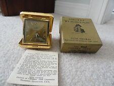 Vintage Seth Thomas Alarm Clock with original box and instructions