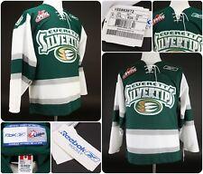 Reebok Everett SIlvertips Sz Adult Small NHL Official CHL Jersey - Green -