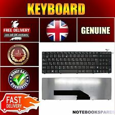 New ASUS K50IJ-SX145V K50IJ-SX148V Keyboard UK Layout Matte Black No Frame