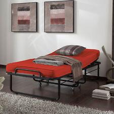LIANA Klappbett Gästebett Raumsparbett Bett 90x200 cm - Rot