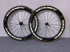 Mavic Cosmic CXR Ultimate Carbon Tubular Wheel Set PAIR Cycling Aero Wheels
