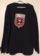 DC United MLS Mens Adidas Graphic Long Sleeve T Shirt Soccer XL
